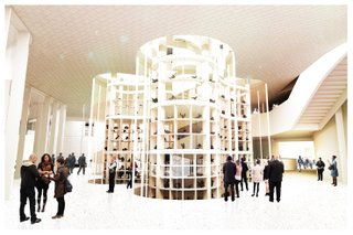 Inuit Art Centre, Rendering of Visible Vault