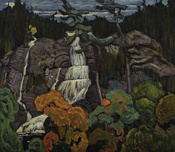 "J.E.H. MacDonald, ""Algoma Waterfall,"" 1920"
