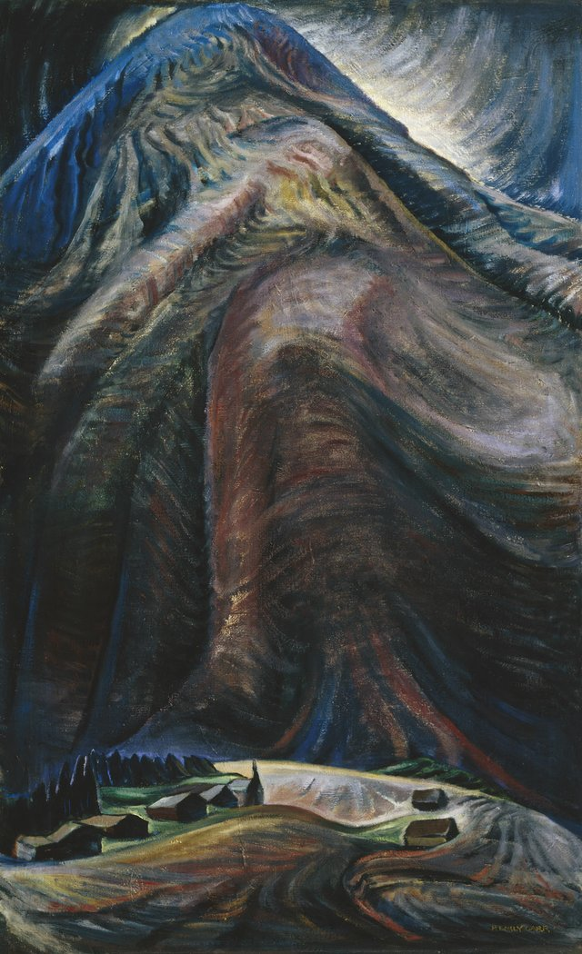 "Emily Carr, ""The Mountain,"" 1933"