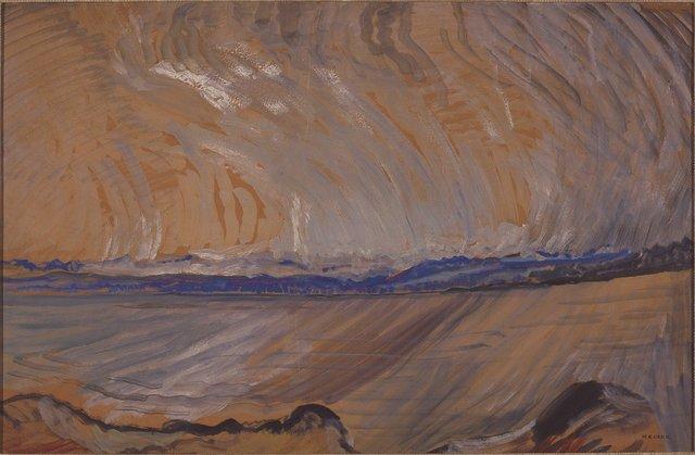 "Emily Carr. ""Strait of Juan de Fuca,"" circa 1936"