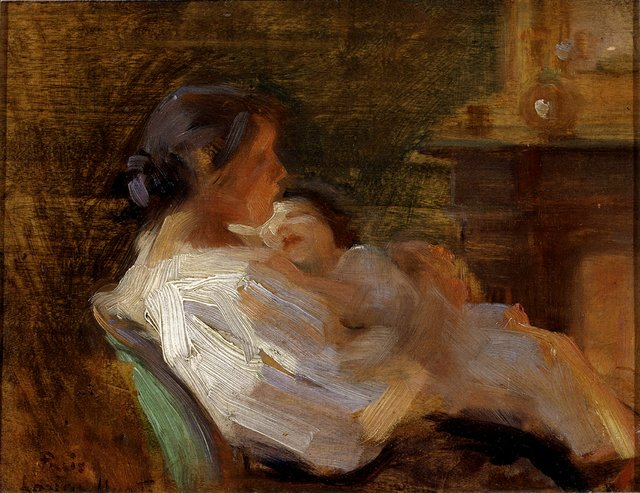 "Laura Muntz Lyall, ""Mother and Child,"" circa 1895"