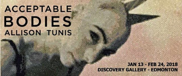"Allison Tunis, ""Acceptable Bodies,"" 2018"
