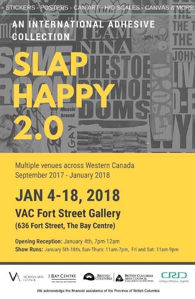 """Slap Happy 2.0,"" 2018"