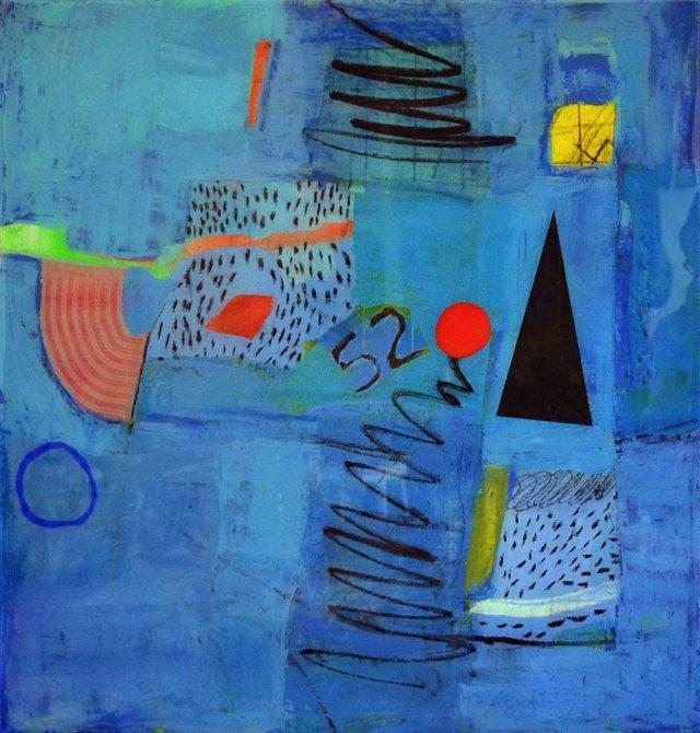 """Robert Dmytruk, """"Blue Road 52"""" nd"""