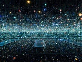 "Yayoi Kusama, ""Infinity Mirrored Room – The Souls of Millions of Light Years Away,"" 2013"