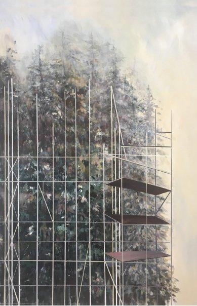 "Lori Goldberg. ""Reconstructing Nature III,"" 2017"