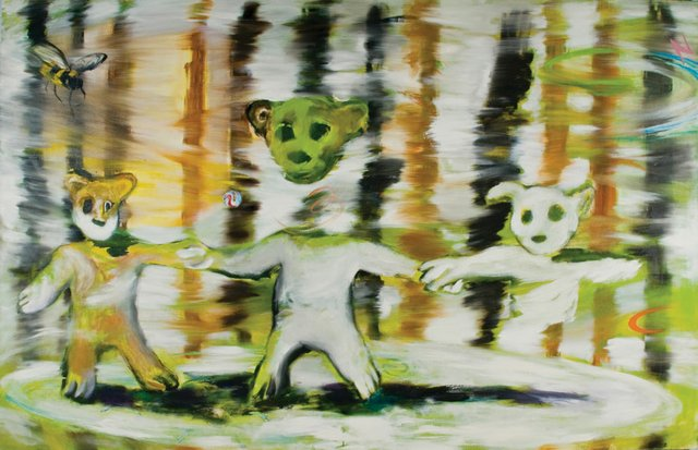 """Mitchell Wiebe, """"What're Friends For Part IV,"""" 2004"""