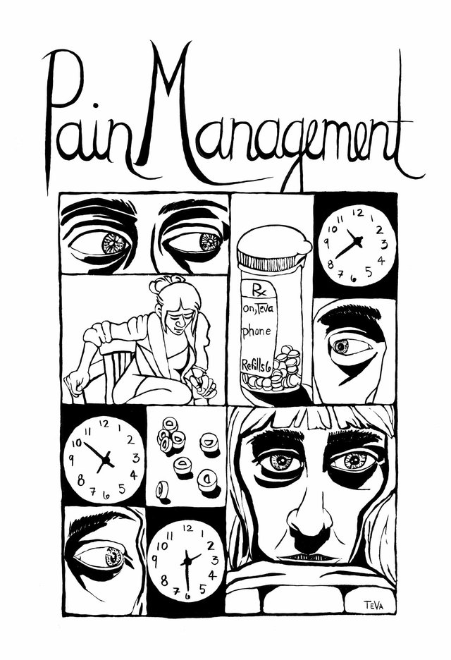 "Teva Harrison, ""Pain Management,"" 2016"