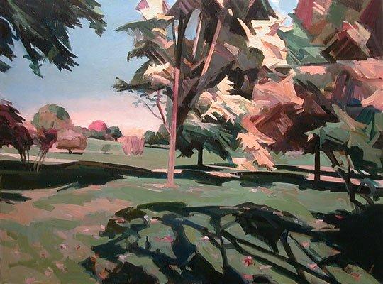 """Kenneth Lochhead, """"Arboretum Play,"""" 2002"""