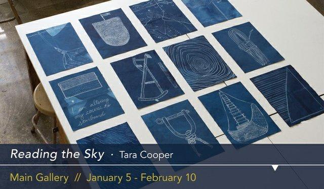 "Tara Cooper, ""Reading the Sky,"" 2018"
