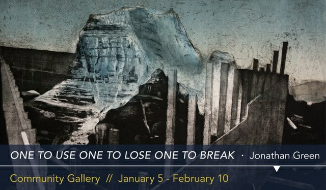 """Jonathan Green, """"One to Use One to Lose One to Break,"""" 2018"""