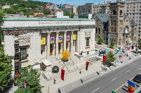 """La Balade pour la Paix: An Open-Air Museum,"" Montreal Museum of Fine Arts. Photo by Denis Farley"