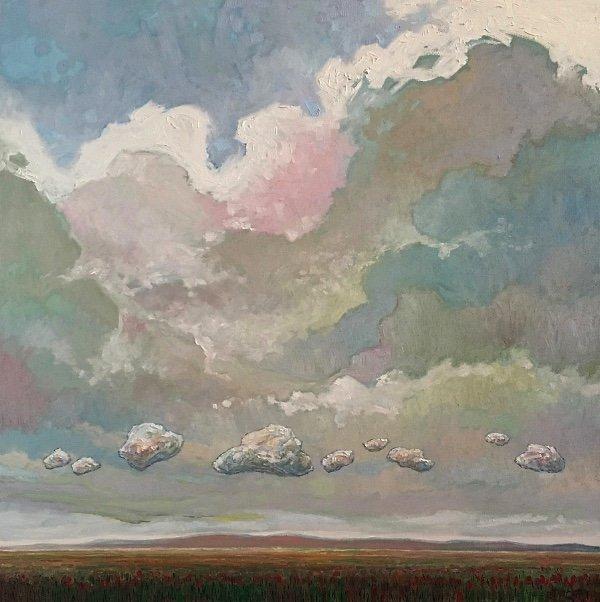 """Steve Coffey, """"Summer Cloud Parade,""""  2018"""