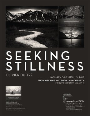 "Olivier Du Tré, ""Seeking Stillness,"" 2018"