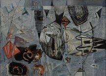 "Jack Shadbolt, ""Untitled,"" c. 1955"