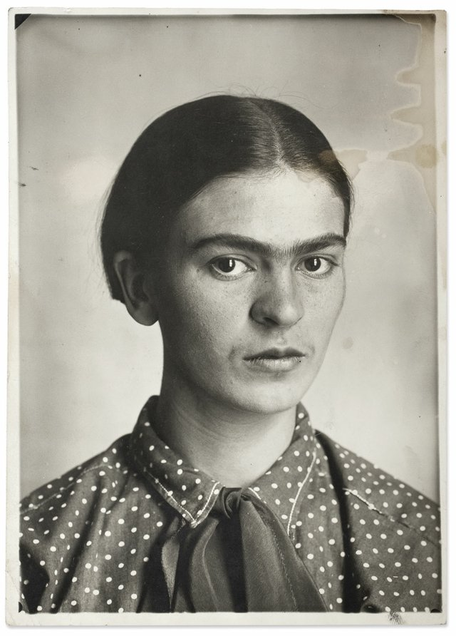 Frida Kahlo by Guillermo Kahlo, 1926 ©Frida Kahlo Museum