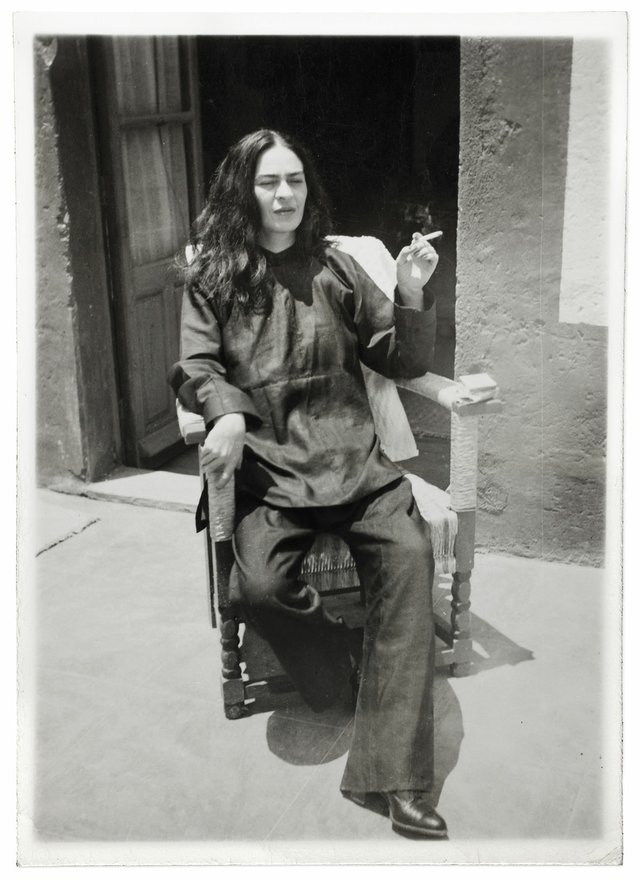 Frida Kahlo after an operation by Antonio Kahlo, 1946 ©Frida Kahlo Museum