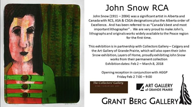 John Snow, at Grant Berg Gallery, 2018