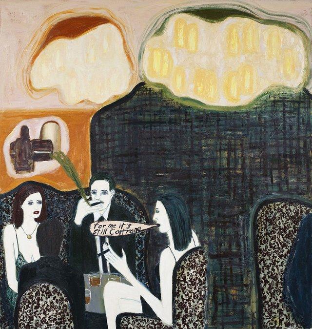 "Gary Pearson, ""Anna's Piano Bar and Smoking Room,"" 2011"