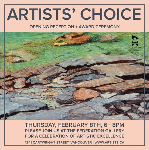 """Federation Gallery, """"Artists' Choice,"""" 2018"""