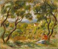 "Pierre-Auguste Renoir, ""The Vineyards at Cagnes,"" 1908"
