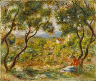 "Pierre-Auguste Renoir, ""The Vineyards at Cagnes,"" 1908"