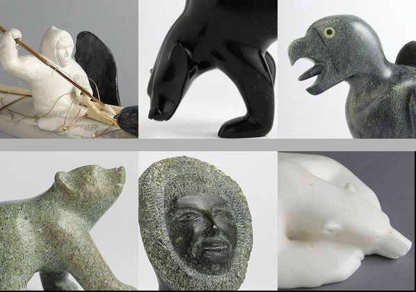 """Inuit Gallery of Vancouver, """"15th Annual Small Treasures,"""" 2018"""