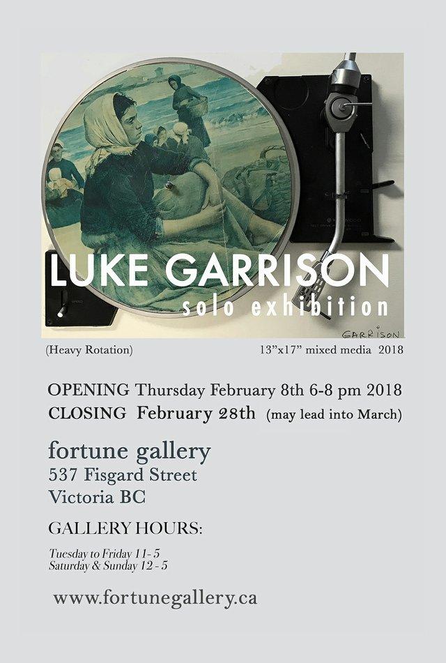 Luke Garrison invitation