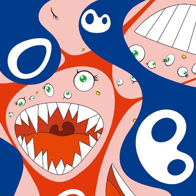 """Takashi Murakami, """"Klein's Pot A,"""" 1994-1997"""