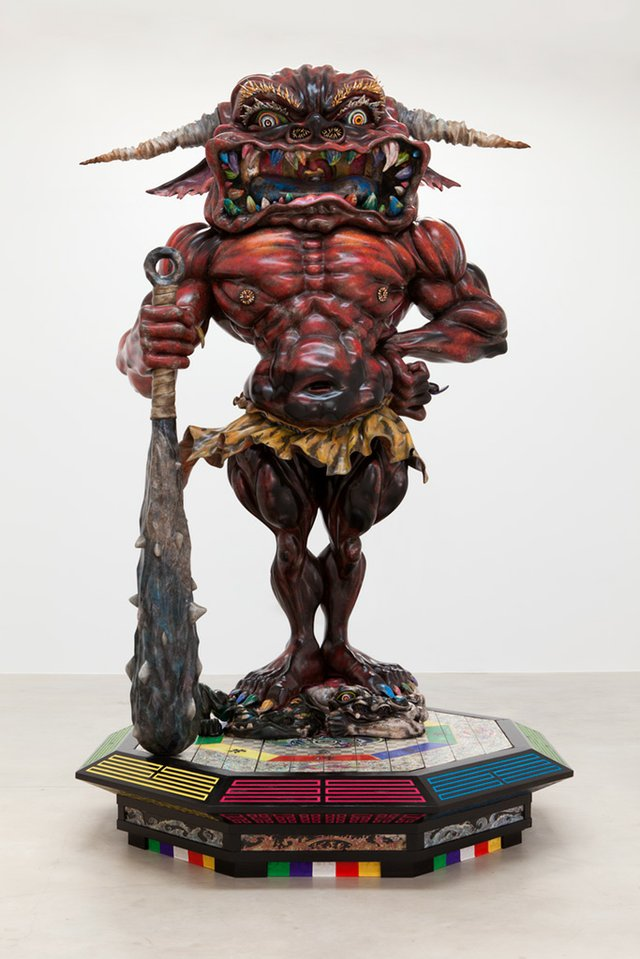 "Takashi Murakami, ""Embodiment of 'A',"" 2014"