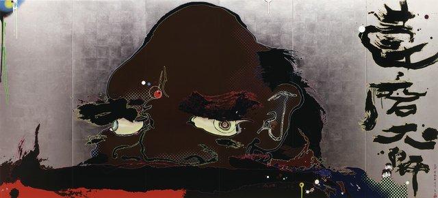 "Takashi Murakami, ""Release Chakra's gate at this instant,"" 2008"