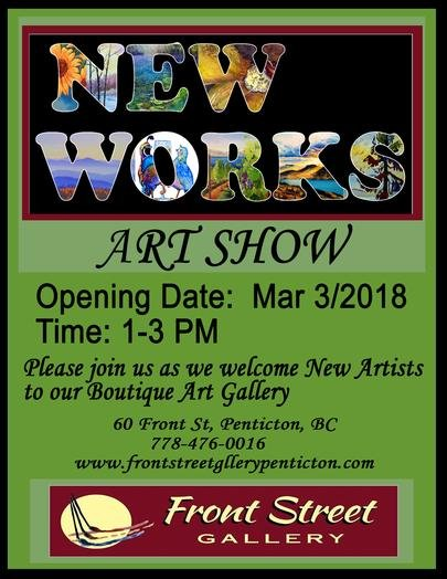 "Front Street Gallery, ""New Works Art Show,"" 2018"