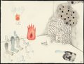 "Tomoyo Ihaya, ""Sketch For Eyes Water Fire,"" nd"