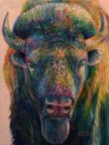 """Shannon Ford, """"Bison Approach,"""" nd"""