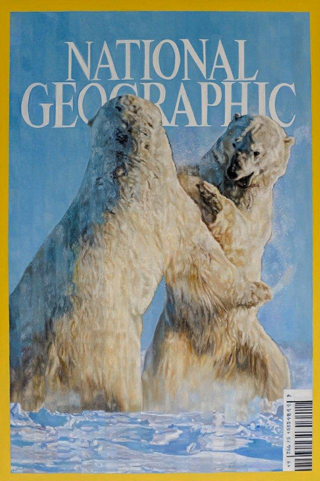 """Robert Lemay, """"Polar Bears,"""" 2018"""
