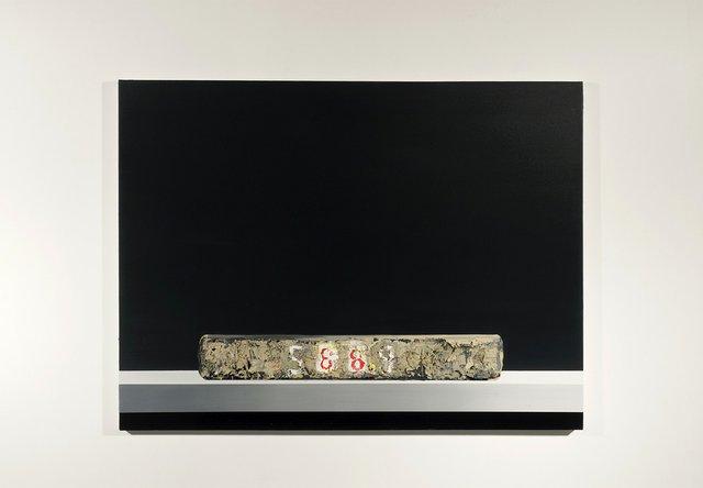 """Ufuk Ali Gueray, """"Lithograph Stone – 5889,"""" 2016"""