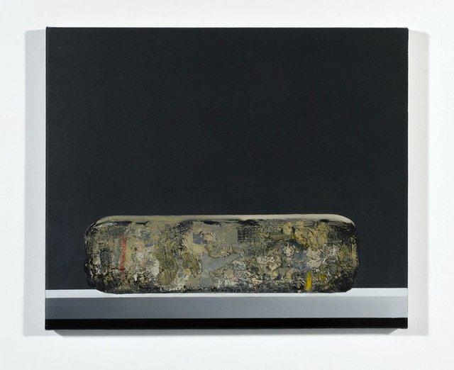 """Ufuk Ali Gueray, """"Lithograph Stone,"""" 2016"""