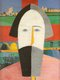 "Source image for Ufuk Ali Gueray: Kazimir Malevich, ""Head of a Peasant,"" circa 1928-1930"
