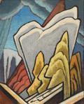 "Lawren Harris, ""Autumn: Design for a Panel,"" c. 1945"