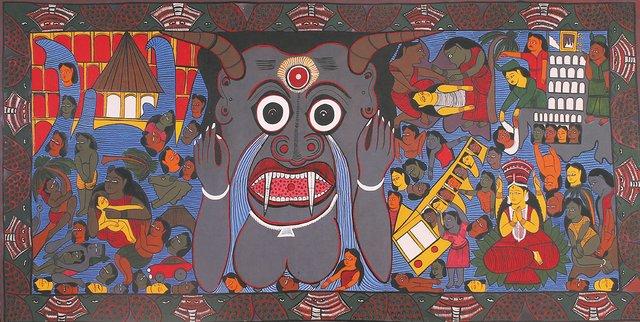 "Swarna Chitrakar, ""Tsunami,"" 2005"