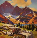 """Mike Svob, """"The Approach to Lake McArthur,"""" nd"""