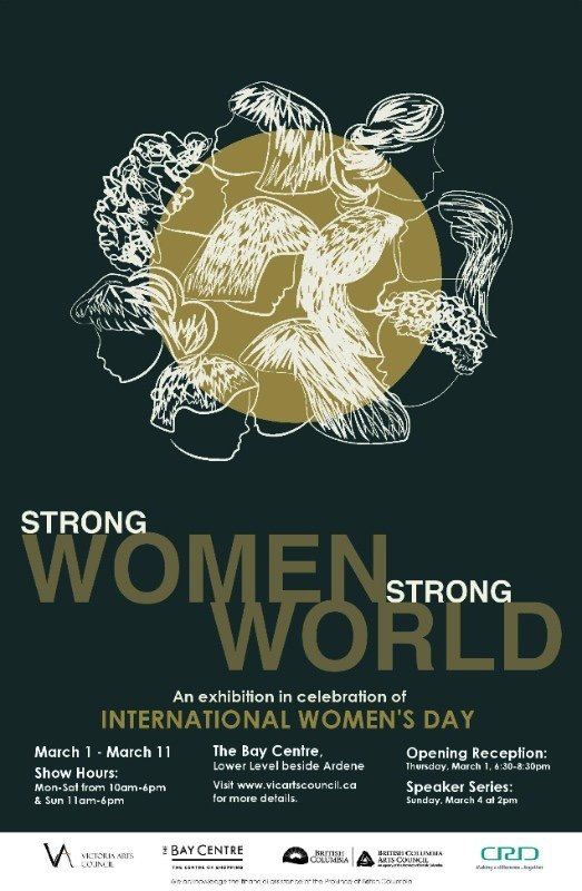"""Strong Women Strong World,"" 2018"