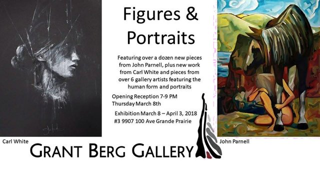"""Grant Berg Gallery, """"Figures and Portraits,"""" 2018"""