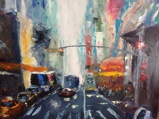"Pat Devlin, ""In a New York Minute,"" 2018"