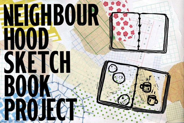 "Gallery Gachet, ""Neighbourhood Sketchbook Project,"" 2018"