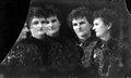 """Hannah Maynard,""""A multiple exposureselfportraitby Hannah Maynard,"""" 1890"""