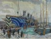"""Arthur Lismer, """"Olympic with Returned Soldiers,"""" 1919"""