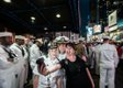 """Kathryn Mussallem, """"Selfie with Some Sailors, New York, NY, May 2014"""" (courtesy of the artist)"""