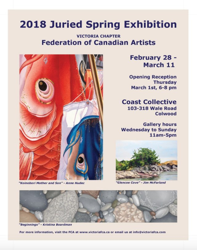 FCA Victoria Chapter 2018 Juried Spring Exhibition