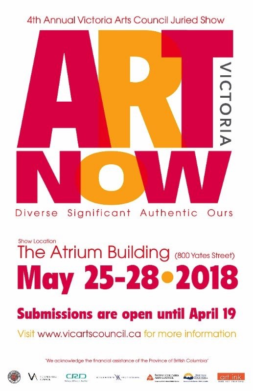 4th Annual Art Victoria Now, 2018